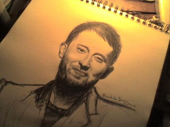 Thom Yorke by weirdgirl